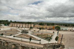 Fotografía de la hacienda de Cruces tomada por Homero Adame