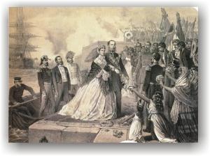 veracruz-1864-llegada-maximiliano-memoriapoliticamexico-org-2-aguapasada